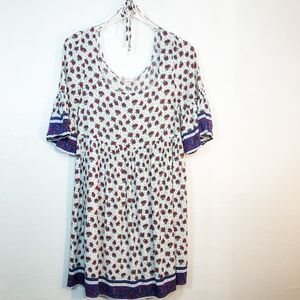 Altar'd State Floral Tunic Dress Size Small